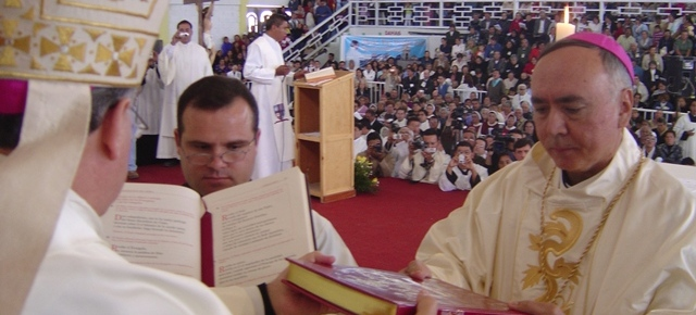Ordenación de Monseñor Ruy Rendón Leal