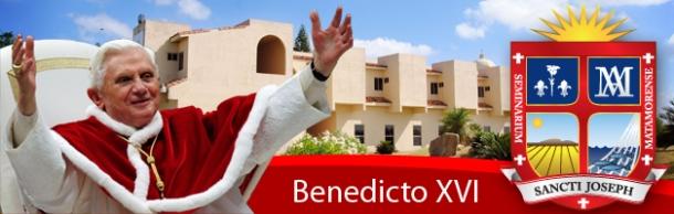 Banner Benedicto XVI