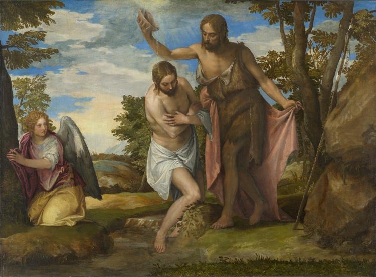 El bautismo del Señor (Veronese)
