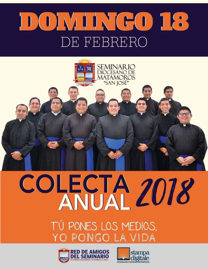 Poster Colecta Anual 2018